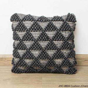 Cushion  JHC-8604  Charcoal  18x18