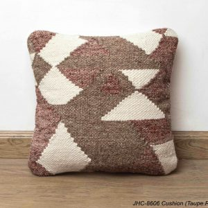 Cushion  JHC-8606  Taupe Rust  16x16
