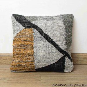 Cushion  JHC-8608  Silver Mustard  16x16