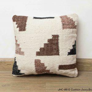 Cushion  JHC-8610  Ivory Brown  16x16