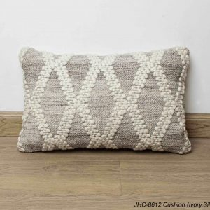Cushion  JHC-8612  Ivory Silver  12x24