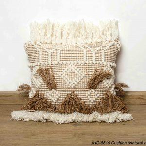 Cushion  JHC-8615  Natural Ivory  18x18