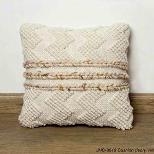 Cushion  JHC-8618  Ivory Yellow  18x18