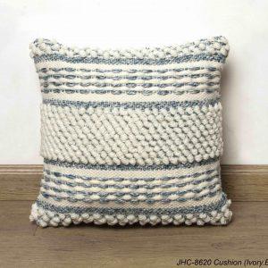 Cushion  JHC-8620  Ivory Blue  18x18