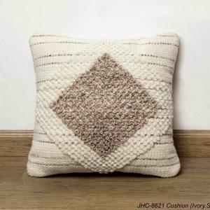 Cushion  JHC-8621  Ivory Sand  18x18