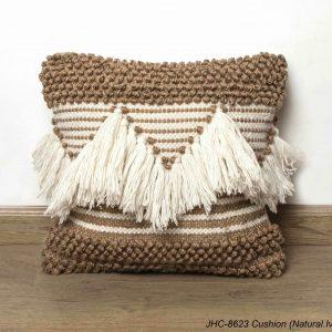 Cushion  JHC-8623  Natural Ivory  20x20