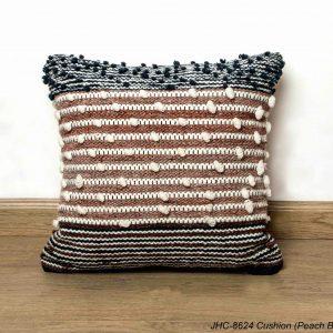 Cushion  JHC-8624  Peach Blue  20x20