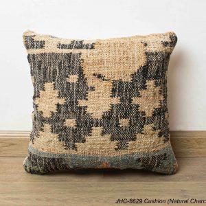 Cushion  JHC-8629  Natural Charcoal  16x16