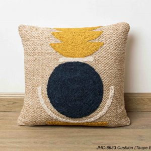 Cushion  JHC-8633  Taupe Blue  16x16