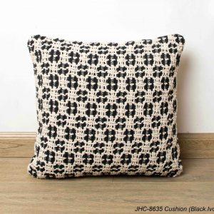 Cushion  JHC-8635  Black Ivory  16x16
