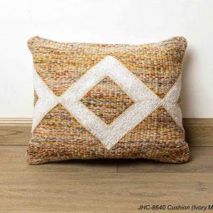 Cushion  JHC-8640  Ivory Multi  16x16