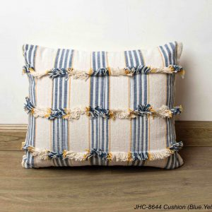 Cushion  JHC-8644  Blue Yellow  16x16