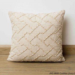 Cushion  JHC-8650  Ivory Gold  16x16