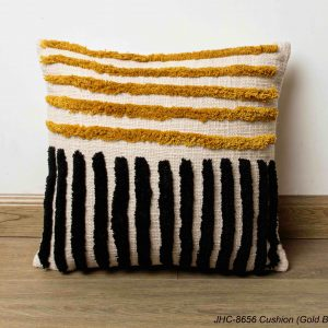 Cushion  JHC-8656  Gold Black  16x16