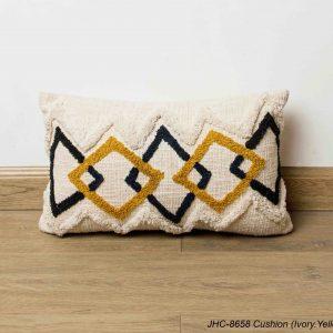 Cushion  JHC-8658  Ivory Yellow  16x16
