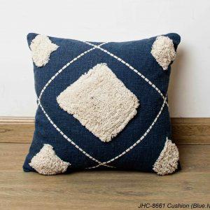 Cushion  JHC-8661  Blue Ivory  18x18