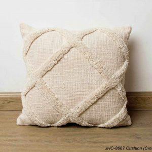 Cushion  JHC-8667  Cream  18x18