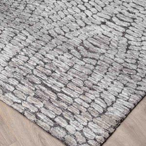 Carpet MILTON Charcoal Silver 160X230 CM