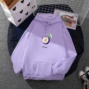 2021  Fruit Series  Style  Loose Logo  Custom - Purple - XXX Large
